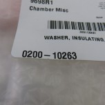 (AMAT) 0200-10263 Washer, Insulating, Ceramic