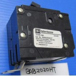 CUTLER HAMMER_BAB2020HT_BAB CIRCUIT BKR 240VAC 10KAIC WRING LUG TERMS ON LOAD END