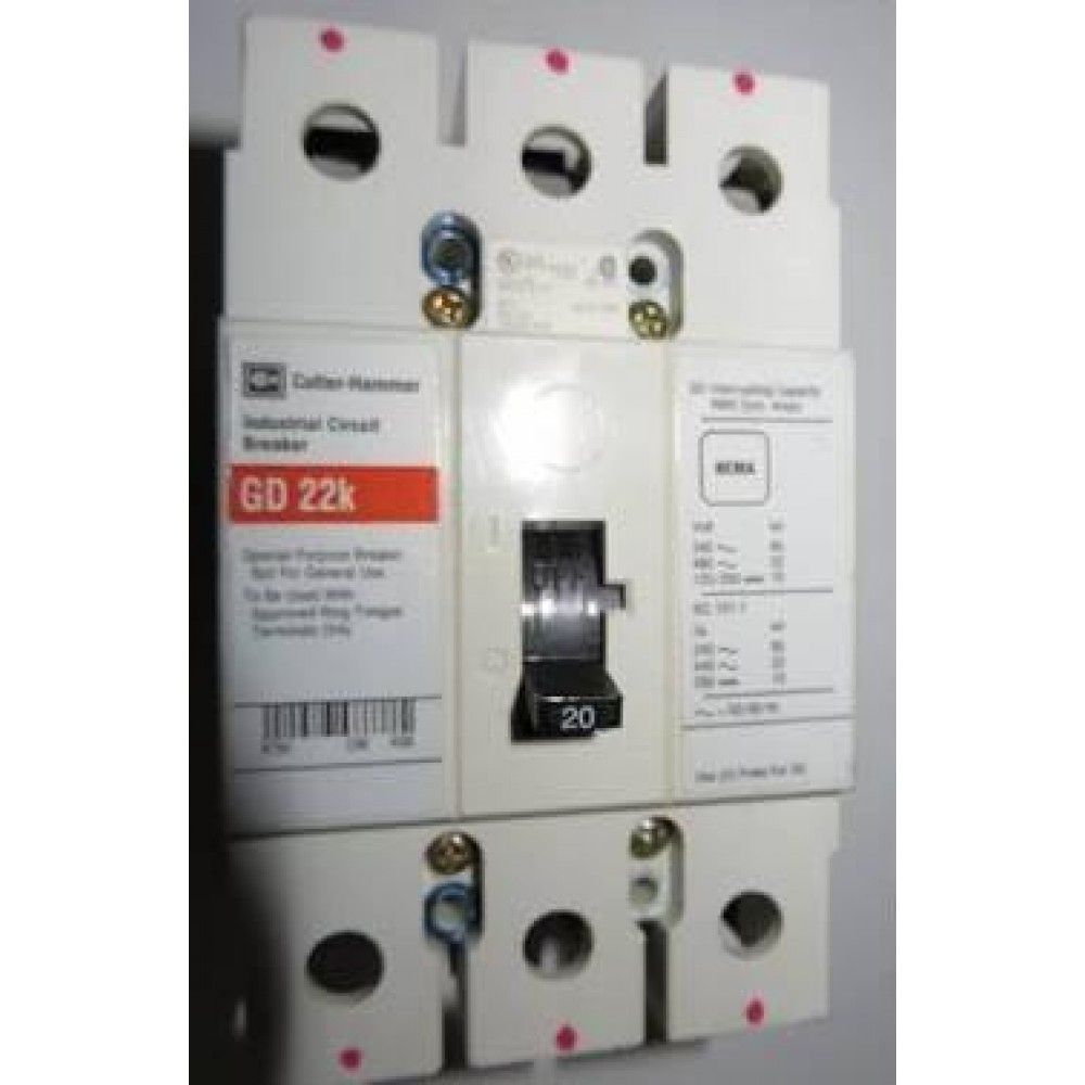 Cutler Hammer Circuit Breaker Gd22k