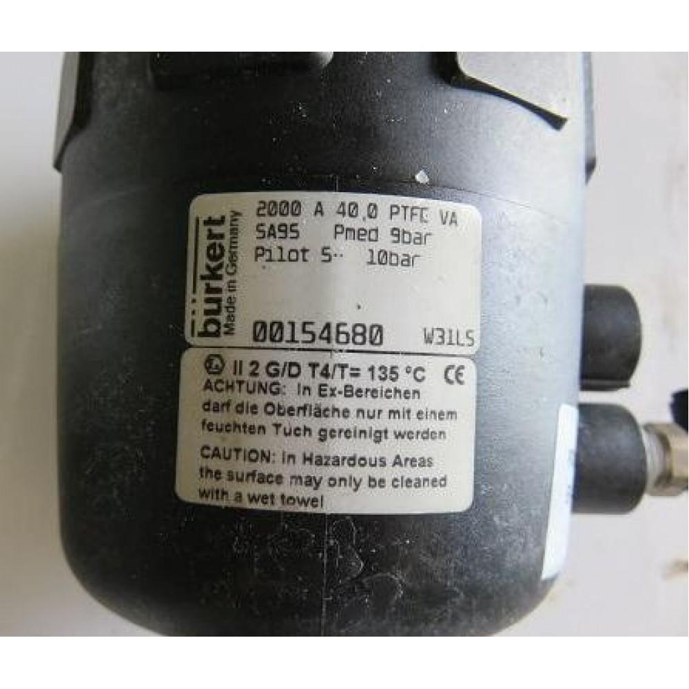 burkert angle valve
